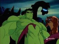 Outcasts Behind Hulk