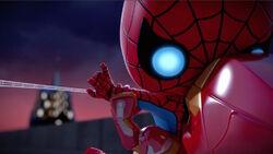 Iron Man Redirects Webbing SBD