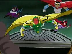 Avengers Engage Kang