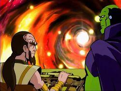 Mentor Drax Enter Plasma Jump