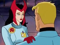 Scarlet Witch Asks Hank to Save Wonder Man