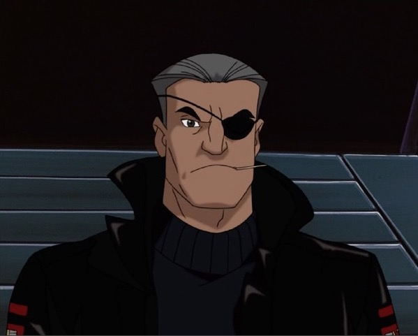 Nick Fury X Men Evolution Marvel Animated Universe Wiki Fandom