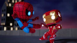 Spider-Man Kicks Iron Man SBD