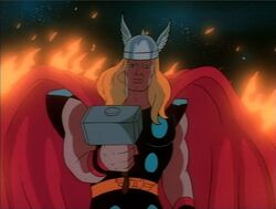 Thor Wonders at Ego Thruster