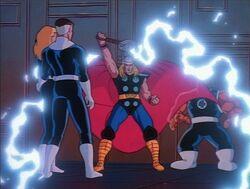 Thor Initiates Portal