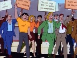Anti-Mutant Protesters