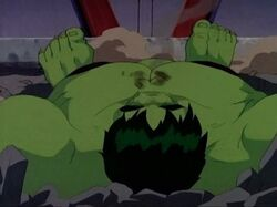Hulk Defeated by Zzzax