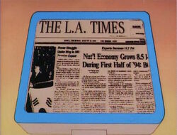 LA Times Page 1