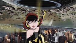 Wasp Asks About Galactus Ship AEMH