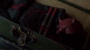 Daredevil suit Defenders