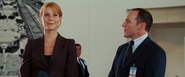 Pepper Potts & Phil Coulson