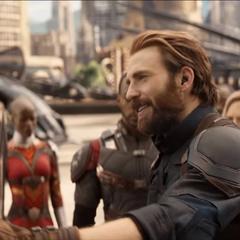 Rogers se reencuentra con Barnes en Wakanda.