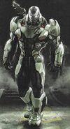 War Machine Avengers Endgame concept art 2