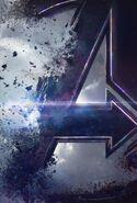 Avengers Endgame Textless Teaser Poster