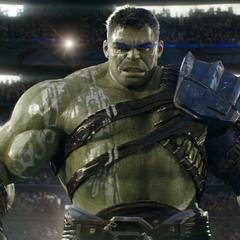 Hulk descubre los poderes ocultos de Thor.