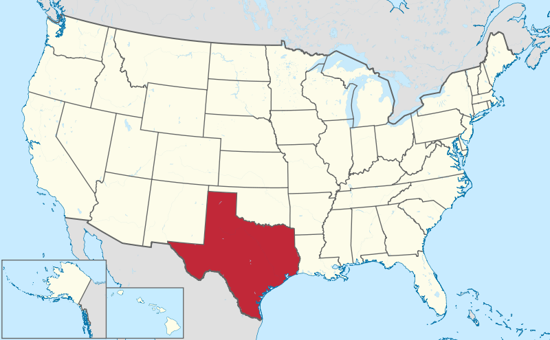 map of texaspng