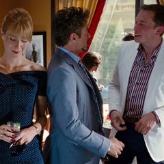 Stark y Potts en Mónaco.