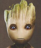 Baby Groot concept art 17