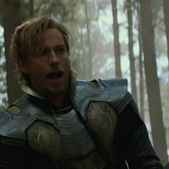 Fandral luchando en el bosque de Vanaheim.