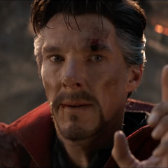 Strange le confirma a Stark su destino.