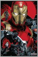 Civil War Mondo Poster Team Iron Man
