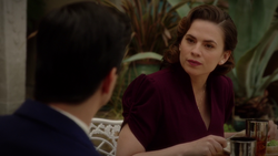 Peggy Carter speaks to Manfredi (2x10)