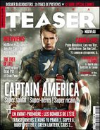 CINEMA TEASER Captain America The First Avenger Cover