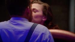 Carter and Jason kiss