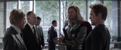 Alexander Pierce meets Thor