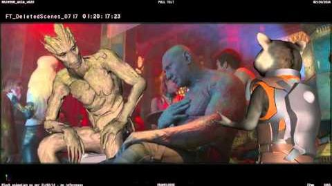Drunk Drax - Marvel's Guardians of the Galaxy - Deleted Scene 3