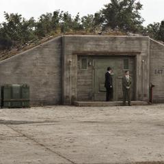 Entrada secreta a las oficinas de S.H.I.E.L.D.