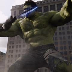 Hulk enfrenta a los Chitauri.