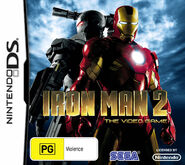 IronMan2 DS AU cover