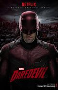 Daredevil Red Costume Poster