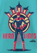 Hero vibes captmarvel