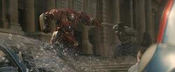 Hulk and Hulkbuster Punch