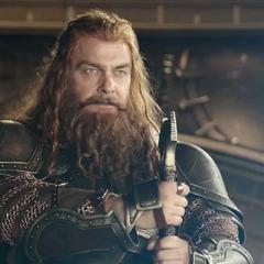 Volstagg espera el regreso de Thor.