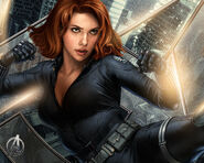 Avengers Promo Art - Black Widow 2