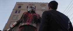 Deflating Giant-Man Suit