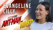 Evangeline Lilly at Marvel Studios' Ant-Man and The Wasp Premiere