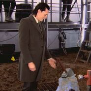 Loki behind the scenes Thor 03