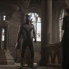Rocket y Thor se despiden de Frigga.