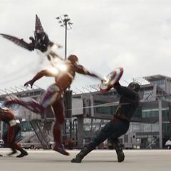Los Vengadores se enfrentan.