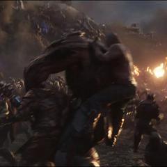 Kog es atrapado por Obsidian.