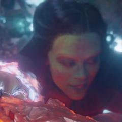 Gamora es atrapada por Ego.