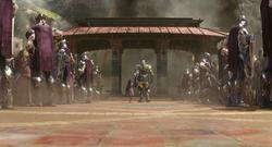 Thanos se lleva a Gamora