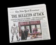New York Examiner Newspaper in DD308 - Prop Store - Marvel TV Items