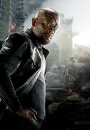 Nick Fury Textless AoU Poster