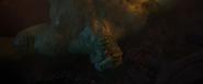 Hulk beaten defeated by Thanos