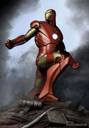 Iron Man 2008 concept art 16